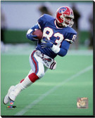 Buffalo Bills Andre Reed 1989 Action 16x20 Stretched Canvas