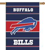 Buffalo Bills 2-Sided 28 X 40 House Banner