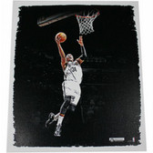 Brooklyn Nets Paul Pierce Lay Up 22x26 Canvas Stretched and
