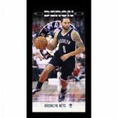 Brooklyn Nets Deron Williams Player Profile Wall Art 9.5x19 Framed Photo
