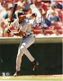 Brian Hunter Detroit Tigers Signed 8x10 Photo