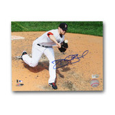 Boston Red Sox Signed Daniel Bard 8x10- UnFramed Boston Red Sox Photo. (MLB Authenticated)