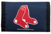 Boston Red Sox Nylon Trifold Wallet