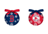 Boston Red Sox LED Box Set Ornaments