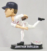 Boston Red Sox Jonathan Papelbon Blatinum Bobblehead