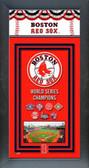 Boston Red Sox Framed Championship Banner