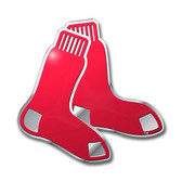 Boston Red Sox Color Auto Emblem - Die Cut