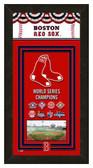 Boston Red Sox 2013 World Series Champions Framed Championship Banner