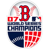 Boston Red Sox 2007 World Series Champs Car Magnet