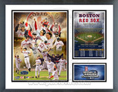 Boston Red Sox 2004 World Series Champions Milestones & Memories Framed Photo