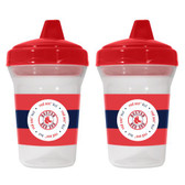 Boston Red Sox 2-Pack Sippy Cups