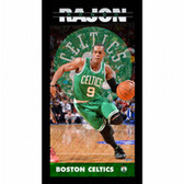 Boston Celtics Rajon Rondo Player Profile Wall Art 9.5x19 Framed Photo
