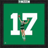 Boston Celtics John Havlicek 20X20 Framed Uniframe Jersey Photo