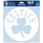 "Boston Celtics Die-cut Decal - 8""x8"" White"