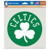 "Boston Celtics Die-cut Decal - 8""x8"" Color"