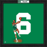 Boston Celtics Bill Russell 20X20 Framed Uniframe Jersey Photo