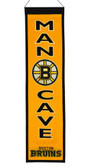 Boston Bruins Wool Man Cave Banner