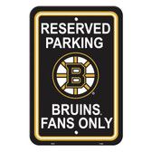 Boston Bruins Parking Sign