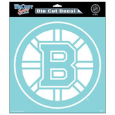 "Boston Bruins Die-Cut Decal - 8""x8"" White"