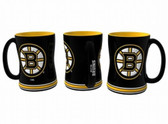 Boston Bruins Coffee Mug - 15oz Sculpted 4675709839
