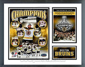 Boston Bruins 2011 NHL Stanley Cup Champions Milestones & Memories Framed Photo