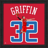 Blake Griffin Los Angeles Clippers 20x20 Framed Uniframe Jersey Photo