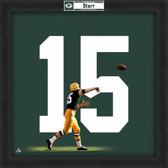 Bart Starr Green Bay Packers 20x20 Framed Uniframe Jersey Photo