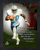 Barry Sanders 11x14 ProQuote Photo