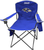 Baltimore Ravens XL Cooler Quad Chair