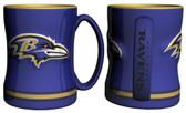 Baltimore Ravens Coffee Mug - 15oz Sculpted 4675709886
