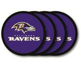 Baltimore Ravens Coaster Set - 4 Pack