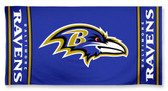 Baltimore Ravens Beach Towel 9960618736