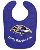 Baltimore Ravens Baby Bib - All Pro Little Fan