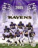 Baltimore Ravens 8x10 Team Photo - 2005