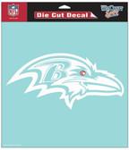 "Baltimore Ravens 8""x8"" Die-Cut Decal"