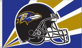 Baltimore Ravens 3 Ft. x 5 Ft. Flag w/Grommets