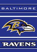 "Baltimore Ravens 28""x40"" 2-Sided Banner"