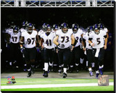 Baltimore Ravens 2013 Team Introduction 16x20 Stretched Canvas