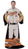 "Baltimore Orioles 48""x71"" Comfy Throw - Player Design"