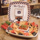 Auburn Tigers Gameday Chip & Dip Set