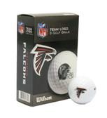 Atlanta Falcons Wilson Ultra Golf Balls - 6 Pack