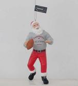 Atlanta Falcons Santa Claus Christmas Ornament