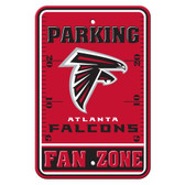 Atlanta Falcons Plastic Parking Sign - Fan Zone