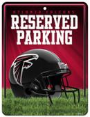 Atlanta Falcons Metal Parking Sign