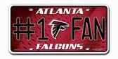 Atlanta Falcons License Plate - #1 Fan