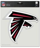 "Atlanta Falcons Die-Cut Decal - 8""x8"" Color"