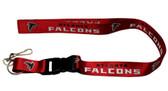 Atlanta Falcons Breakaway Lanyard with Key Ring