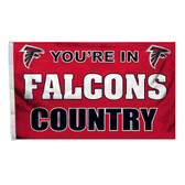 Atlanta Falcons 3 Ft. X 5 Ft. Flag W/Grommets 94120B
