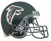 "Atlanta Falcons 12"" Helmet Car Magnet"