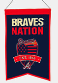 Atlanta Braves Wool Nations Banner